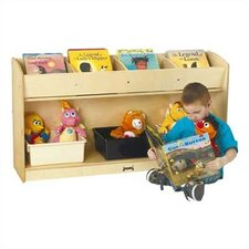 "26"" H Book Browser Flushback Bookcase"