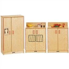 <strong>Jonti-Craft</strong> 3 Piece Birch Kitchen Set