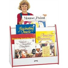 "<strong>Jonti-Craft</strong> 28"" H Rainbow Accents Big Book Mobile Pick-a-Book Stand - 1 Sided"