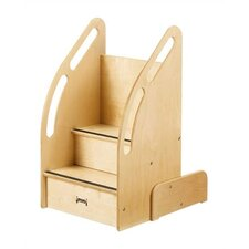 "<strong>Jonti-Craft</strong> KYDZ Up-n-Down Steps - Rectangular (18"" x 23"")"