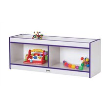 "<strong>Jonti-Craft</strong> Rainbow Accents Cruiser Center - Rectangular (48"" x 15"")"
