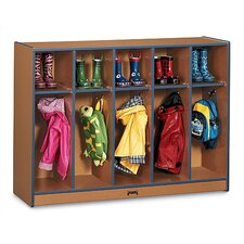 <strong>Jonti-Craft</strong> SPROUTZ® Toddler Coat Locker - 5 Sections