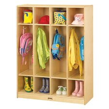 4-Sections Coat Locker