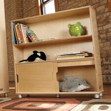 <strong>Jonti-Craft</strong> TrueModern Two-Shelf Bookcase