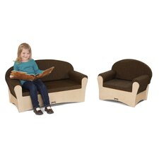 Komfy Sofa & Chair (Set of 2)