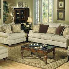 <strong>Craftmaster</strong> Woodburn Sofa and Chair Set
