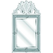 The Solitaire Floral Mirror