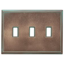 Classic Magnetic Triple Toggle Wall Plate