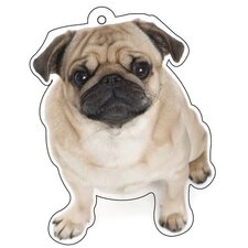 Pug Air Freshener (Set of 3)