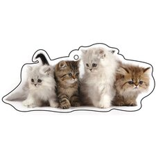 Kittens Air Freshener (Set of 3)