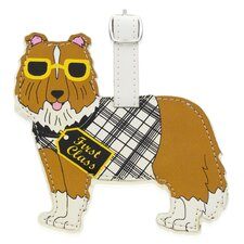 Shetland Sheepdog Luggage Tag