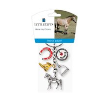 <strong>Little Gifts</strong> Horse Lover Standing Horse V3 Key Chain