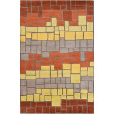 Cinzia Geometric Blocks Area Rug