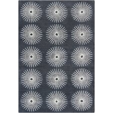 <strong>Filament  LLC</strong> Cinzia Dark Grey/Grey Abstract Rug
