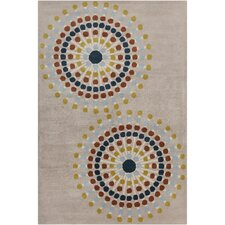 <strong>Filament  LLC</strong> Cinzia Warm Grey Geometric Rug