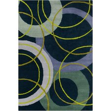 <strong>Filament  LLC</strong> Cinzia Navy Blue Geometric Rug