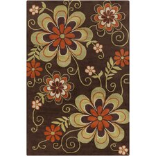 <strong>Filament  LLC</strong> Cinzia Brown Floral Rug
