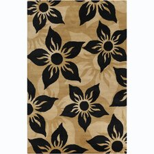 Cinzia Brown Floral Rug