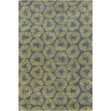 <strong>Filament  LLC</strong> Cinzia Blue/Green Abstract Rug