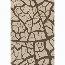 Cinzia Beige Abstract Rug