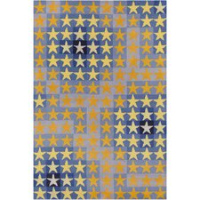 Cinzia Abstract Star Rug