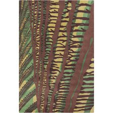 <strong>Filament  LLC</strong> Cinzia Brown Abstract Rug