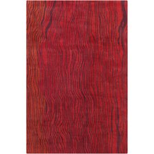 <strong>Filament  LLC</strong> Cinzia Red Abstract Rug
