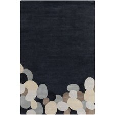 Cinzia Dark Grey Abstract Rug