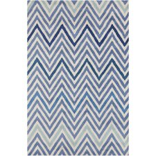 <strong>Filament  LLC</strong> Cinzia Blue/Cream Geometric Rug
