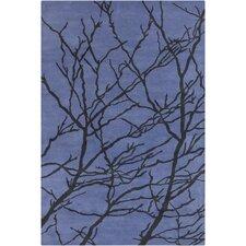 Cinzia Blue / Black Area Rug