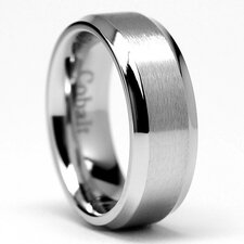 <strong>Bonndorf Laboratories</strong> Men's Chrome Cobalt Comfort Fit Wedding Band