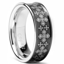 Men's Chrome Cobalt Wedding Ring