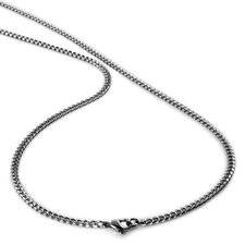 <strong>Bonndorf Laboratories</strong> Stainless Steel Curb Chain Necklace