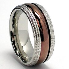 Men's Stainless Steel Comfort Fit Ring