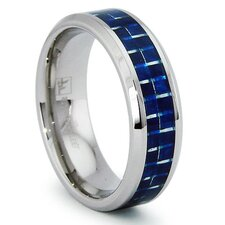 Stainless Steel Comfort Fit Ring