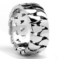 Stainless Steel Cast Link Ring