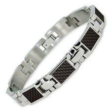 <strong>Bonndorf Laboratories</strong> Carbon Fiber Inlay Titanium Bracelet