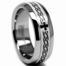 Titanium / Ceramic Inlay Band