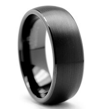 Men's Dome Tungsten Wedding Comfort Fit Band