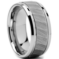 Men's Tungsten Comfort Fit Wedding Ring