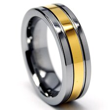 Tungsten Carbide Comfort Fit Wedding Band