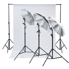 Professional Photo Umbrella / Studio Lighting Kit