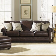 Burke Leather Sofa