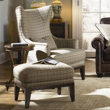 Brewster Accent Chair and Ottoman