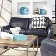 Bella Leather Loveseat