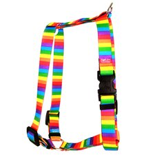 Rainbow Stripes Roman Harness