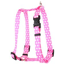 <strong>Yellow Dog Design</strong> New Polka Dot  Roman Harness