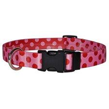 Valentine Polka Dot Standard Collar