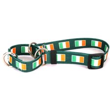 <strong>Yellow Dog Design</strong> Irish Flag Martingale Collar