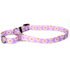 <strong>Yellow Dog Design</strong> Lavendar Daisy Martingale Collar